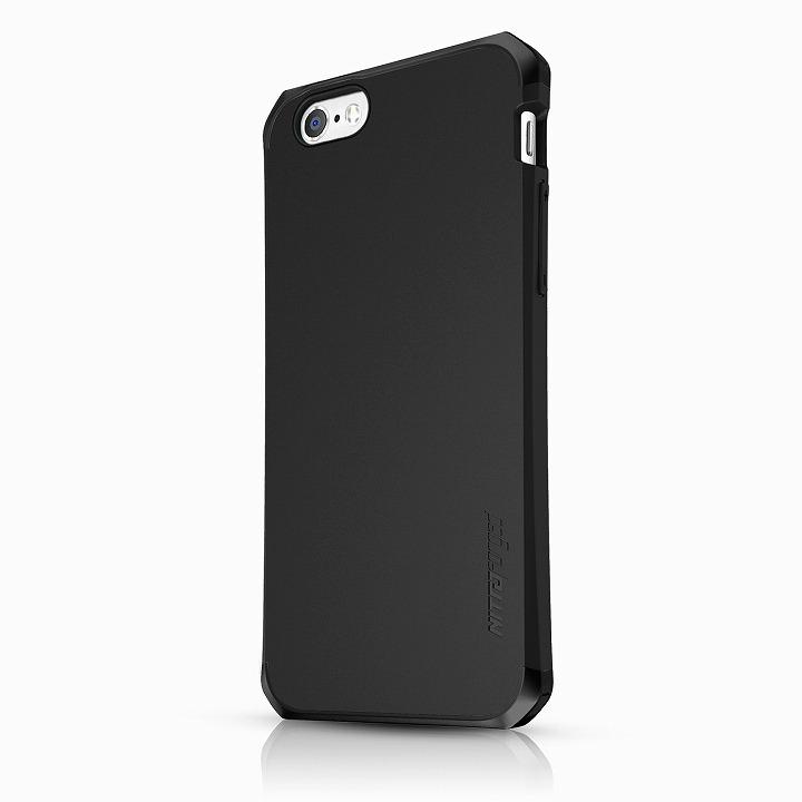 ITSKINS 耐衝撃吸収ケース Nitro ged ブラック iPhone 6ケース