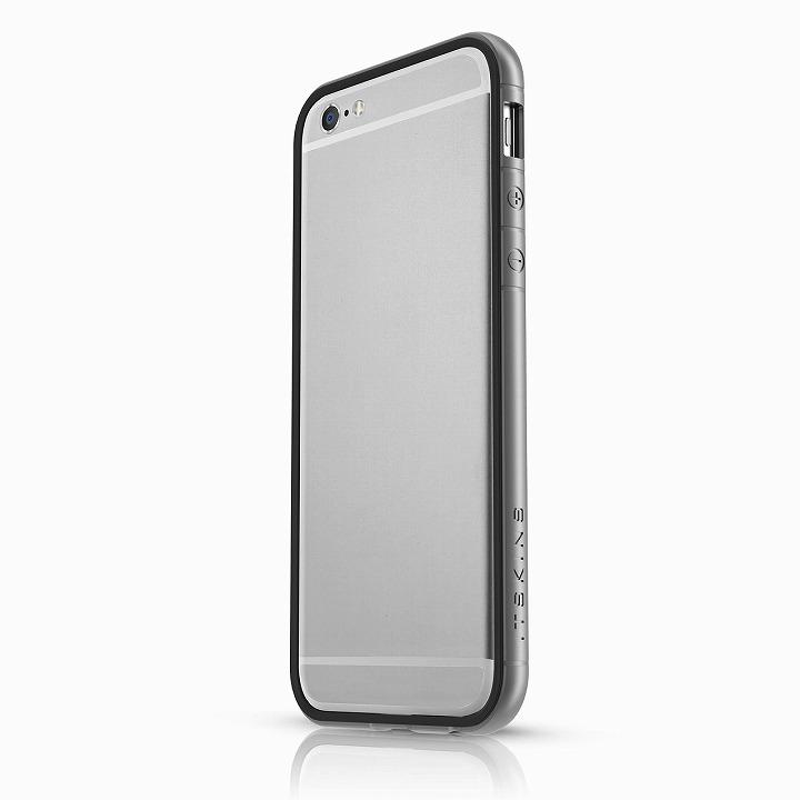 iPhone6 ケース ITSKINS スペシャルアルミコーティングバンパー Heat ダークシルバー iPhone 6バンパー_0
