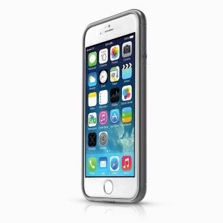 【iPhone6ケース】ITSKINS スペシャルアルミコーティングバンパー Heat ダークシルバー iPhone 6バンパー_1