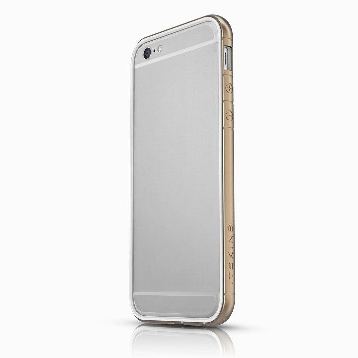 【iPhone6ケース】ITSKINS スペシャルアルミコーティングバンパー Heat ゴールド iPhone 6バンパー_0