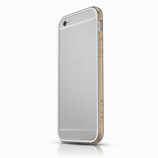【2015年1月上旬】ITSKINS スペシャルアルミコーティングバンパー Heat ゴールド iPhone 6バンパー
