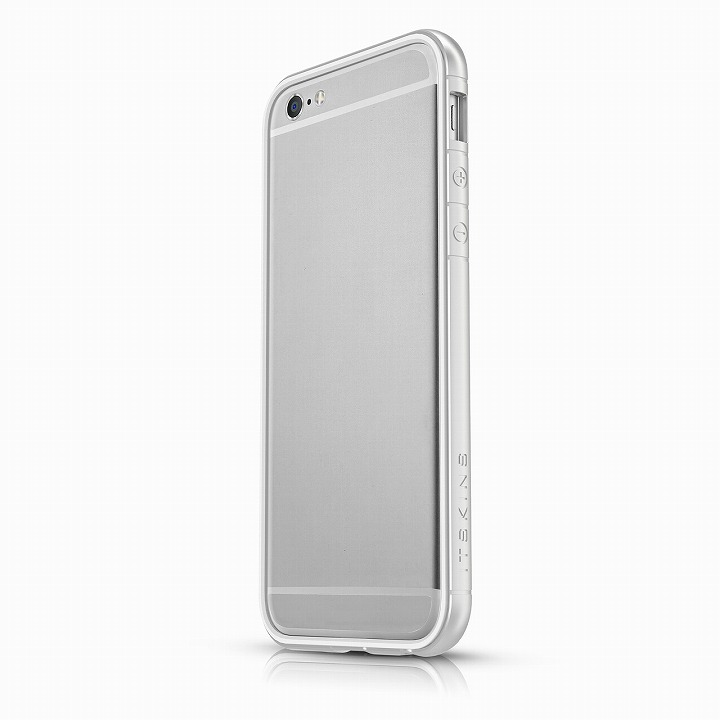 【iPhone6ケース】ITSKINS スペシャルアルミコーティングバンパー Heat シルバー iPhone 6バンパー_0