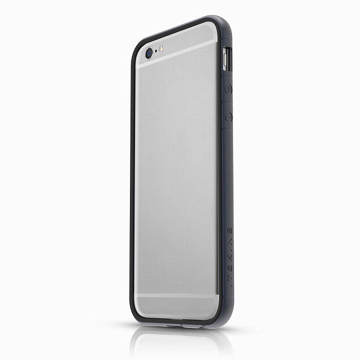 【iPhone6ケース】ITSKINS スペシャルアルミコーティングバンパー Heat ダークブルー iPhone 6バンパー_0