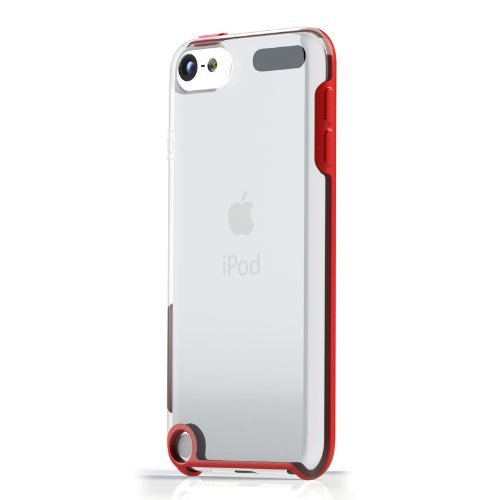 TUNESHELL RubberFrame  iPod touch 5G レッド_0