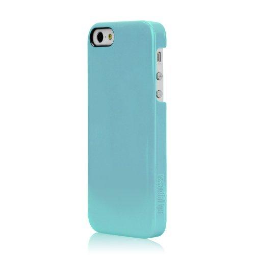 【iPhone SE/5s/5ケース】essential TPE iro case  iPhone SE/5s/5グロッシーターコイズ_0