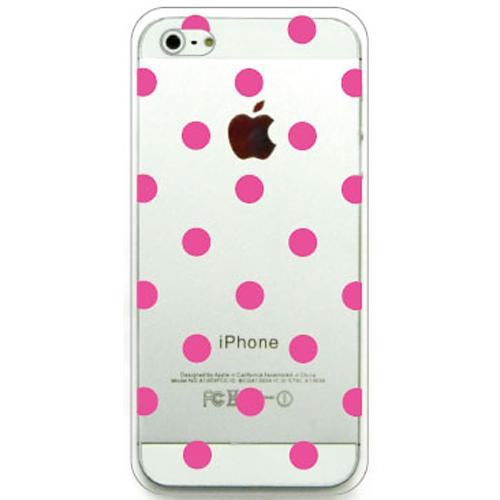 iPhone5 CLEAR DESIGN 108 液晶保護スクリーン付き
