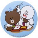 LINE CHARACTER/デカ缶バッヂコレクション2/ムーン