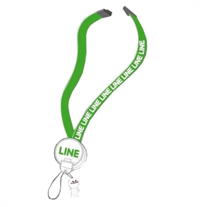 LINE マイタッチストラップ ムーン