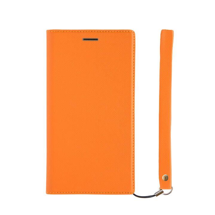 iPhone 11 ケース 耐衝撃フリップノートケース オレンジ iPhone 11_0