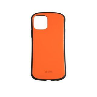 iPhone 11 Pro ケース キズ修復防指紋 衝撃吸収ハイブリッドケース オレンジ iPhone 11 Pro【2020年1月中旬】