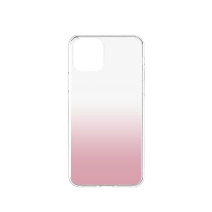 iPhone 11 ケース GLASSICA 背面ガラスケース クリアピンク iPhone 11_0