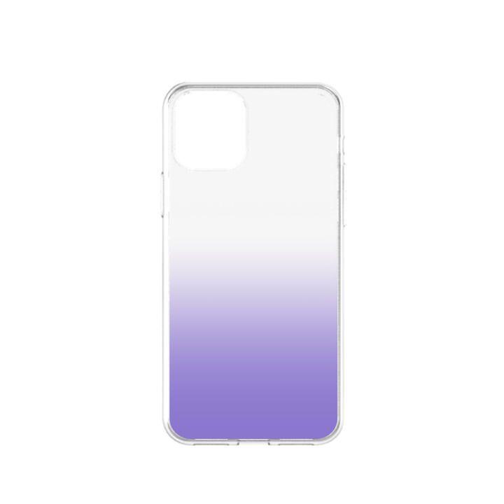 iPhone 11 ケース GLASSICA 背面ガラスケース クリアパープル iPhone 11_0