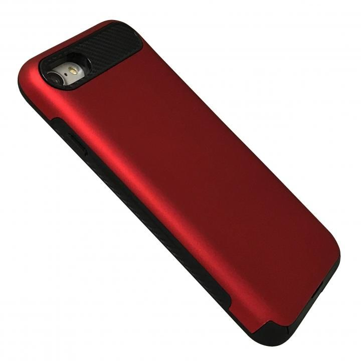 iPhone8/7 ケース Slot-in レッド iPhone 8/7_0