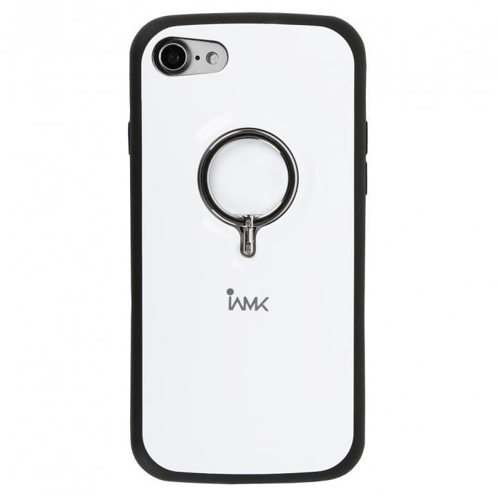 【iPhone8/7ケース】Finger Ring Bumper Case ホワイト iPhone 8/7_0