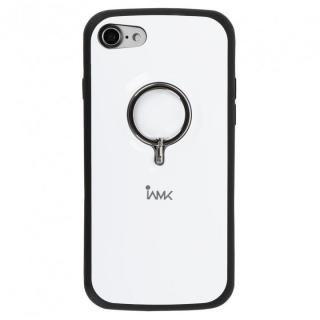 Finger Ring Bumper Case ホワイト iPhone 8/7