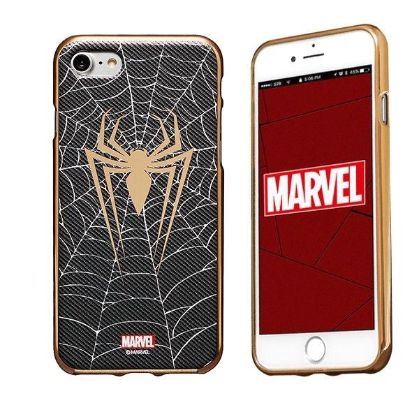 MARVEL Design ソフトTPUケース スパイダーマン iPhone 8/7