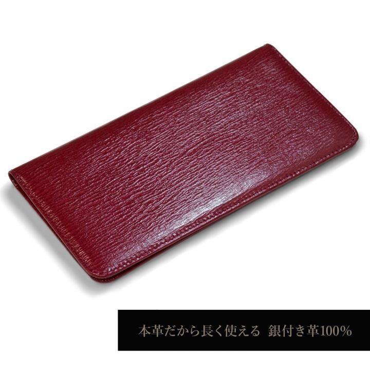 iPhone8/7 ケース お札が入るマルチケース Simoni ワインレッド iPhone 8/7_0