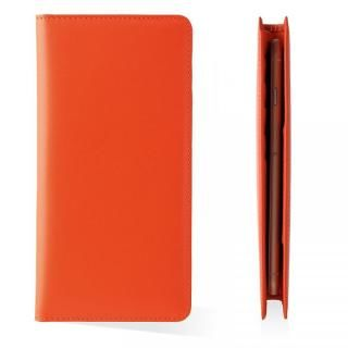 【iPhone8 Plus/7 Plusケース】お札が入るマルチケース Simoni オレンジ iPhone 8 Plus/7 Plus