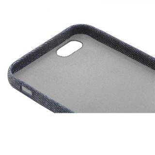 【iPhone6sケース】ファブリックハードケース SLIM SHELL Fabric デニム柄 iPhone 6s/6_5