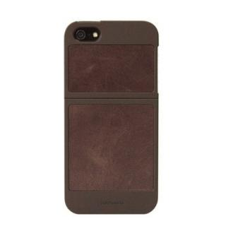 【iPhone SE/5s/5ケース】Classique Leather Case  iPhone 5 Brown×Tan