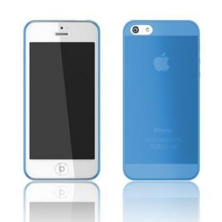 Zero 5(0.5mm)UltraThin マットブルー iPhone 5ケース