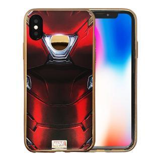 MARVEL Design ソフトTPUケース アイアンマン iPhone X