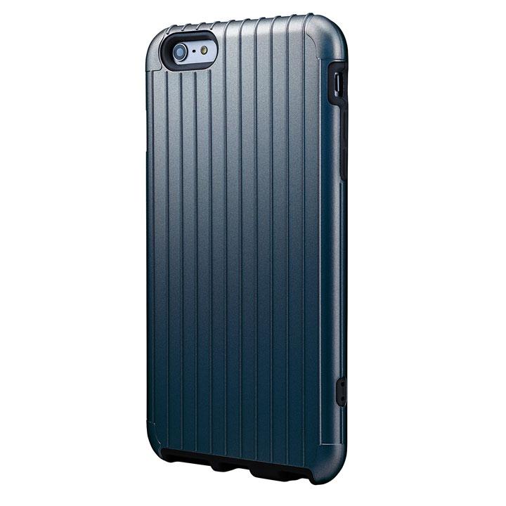 【iPhone6 Plusケース】ICカード対応 2重構造ケース PRECISION ネイビー iPhone 6 Plusケース_0