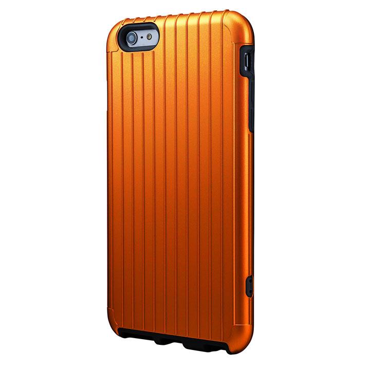 【iPhone6 Plusケース】ICカード対応 2重構造ケース PRECISION オレンジ iPhone 6 Plusケース_0
