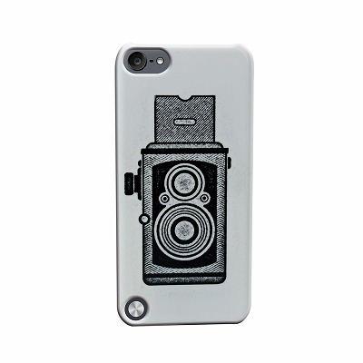 Uncommon iPod touch5ケース Two Lens Camera C0100-JW