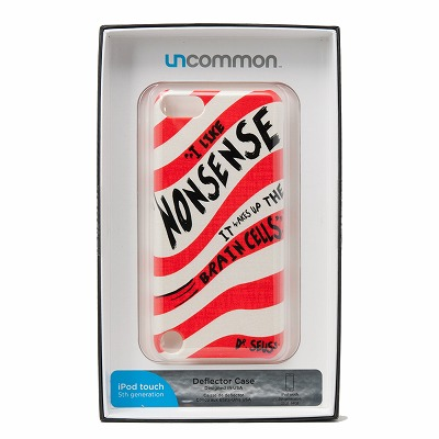 Uncommon iPod touch5ケース Uncommon Nonsense C0090-BZ