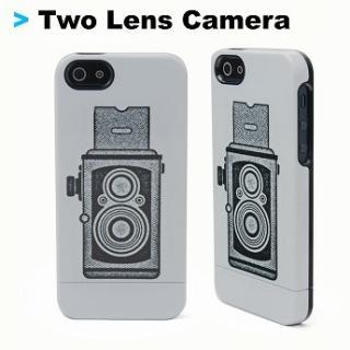 【iPhone SE/5s/5ケース】Uncommon iPhone5ケース Uncommon Two Lens Camera C0090-BU