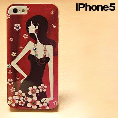iPhone SE/5s/5 ケース kirake ポートレートIP5 BW  iPhone5_0
