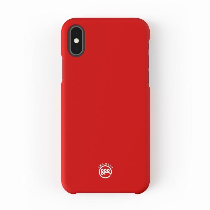 【iPhone XS/Xケース】AndMesh Basic Case レッド iPhone XS/X_0
