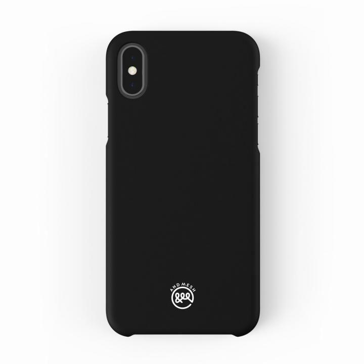 【iPhone XS/Xケース】AndMesh Basic Case ブラック iPhone XS/X_0