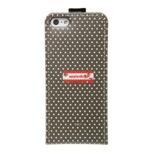 【iPhone SE/5s/5ケース】iPhone5 Fabric Country ストラップ付 ピンク_2