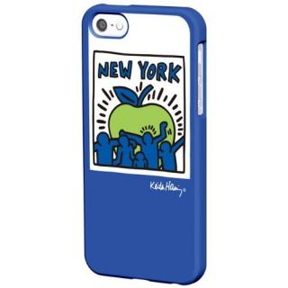 Keith Haring Collection BezeliPhone SE/5s/5 Big Apple/Blue
