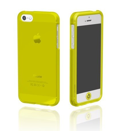 iPhone SE/5s/5 ケース Ice Case  iPhone SE/5s/5 GRAPHT Yellow/グラフトイエロー_0