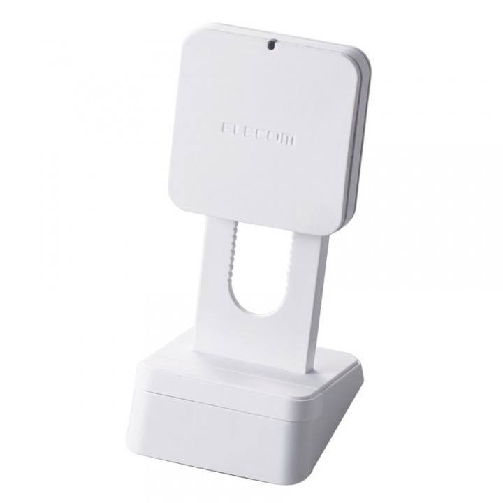 Qi規格対応ワイヤレス充電器 5W スタンドタイプ ホワイト_0