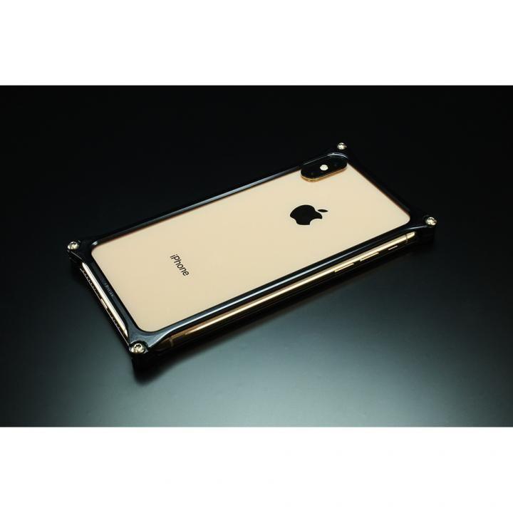 【iPhone XS Maxケース】ギルドデザイン ソリッドバンパー  ブラック iPhone XS Max_0