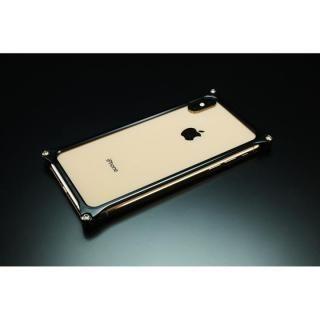 【iPhone XS Maxケース】ギルドデザイン ソリッドバンパー  ブラック iPhone XS Max【12月上旬】