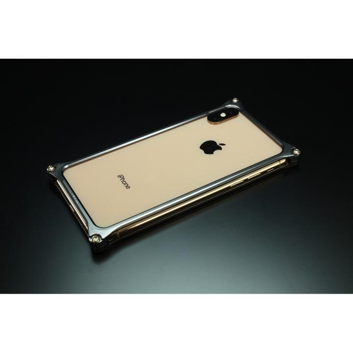iPhone XS Max ケース ギルドデザイン ソリッドバンパー  グレー iPhone XS Max_0