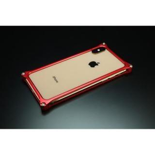 【iPhone XS Maxケース】ギルドデザイン ソリッドバンパー  レッド iPhone XS Max