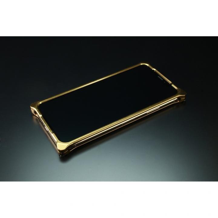 iPhone XS/X ケース ギルドデザイン ソリッドバンパー シグネイチャーゴールド iPhone XS/X_0