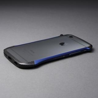 【iPhone6s/6ケース】CLEAVE アルミ&カーボンファイバー ハイブリッドバンパー ブルー iPhone 6s/6_1