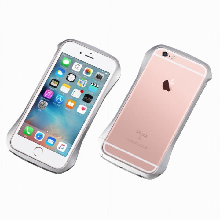 【iPhone6s/6ケース】CLEAVE アルミニウムバンパー シルバー iPhone 6s/6_0