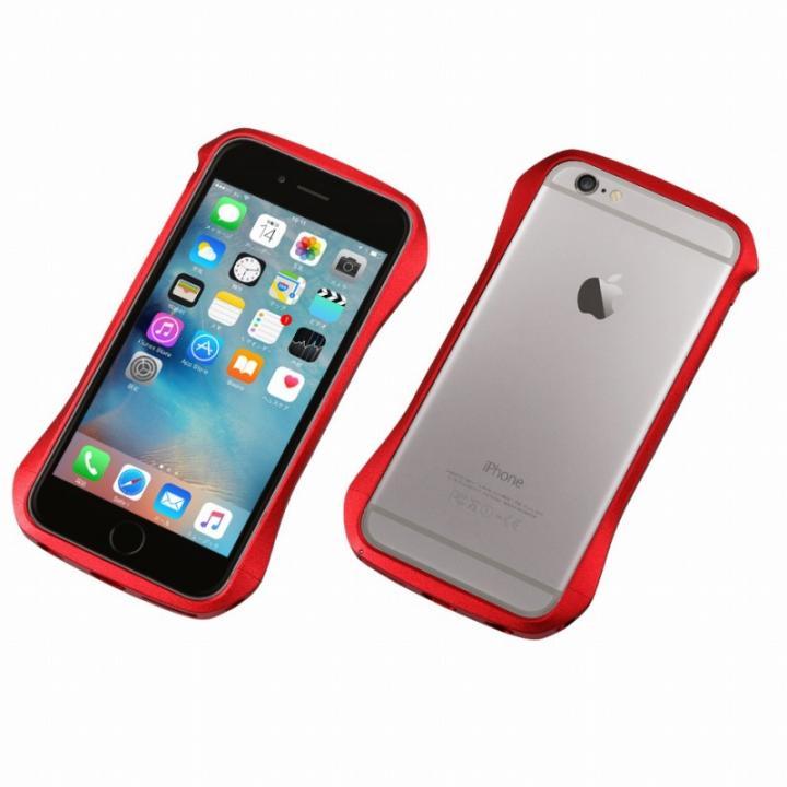 【iPhone6s/6ケース】CLEAVE アルミニウムバンパー レッド iPhone 6s/6_0
