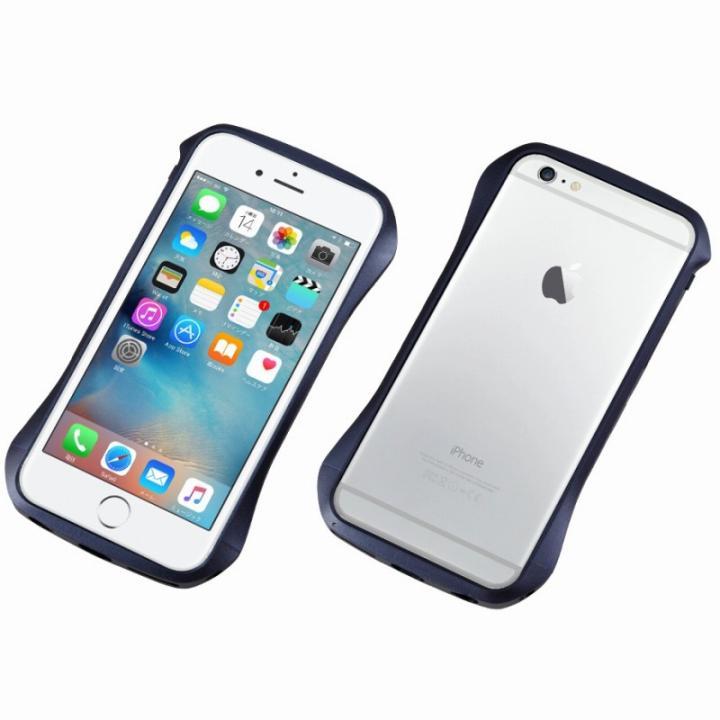 【iPhone6s/6ケース】CLEAVE アルミニウムバンパー ブルー iPhone 6s/6_0