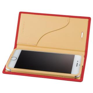 GRAMAS シュランケンカーフ 手帳型レザーケース ピンク iPhone 7 Plus