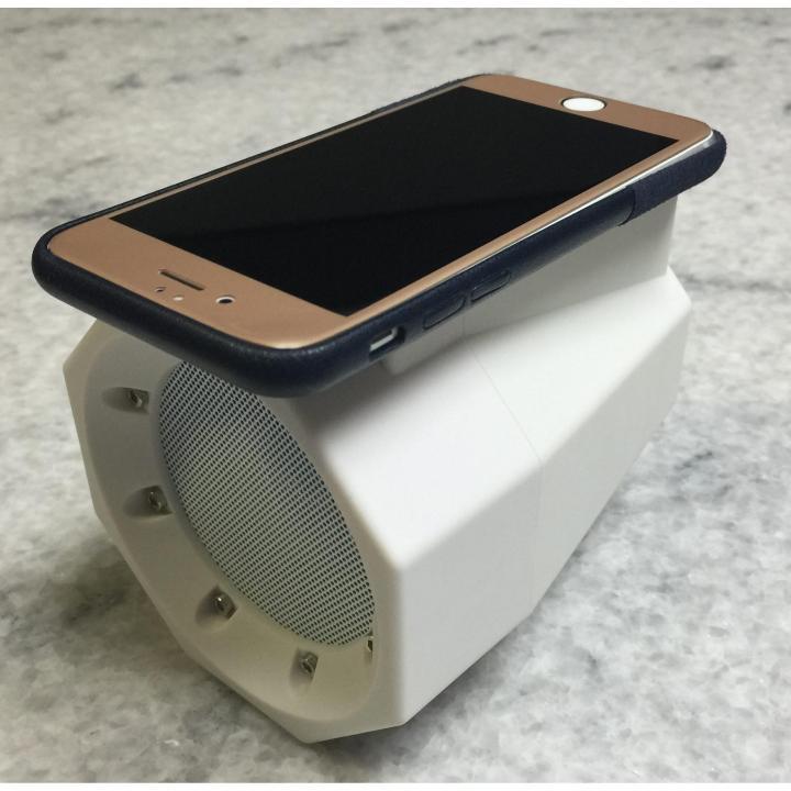 BOOMBOX TouchSpeaker ホワイト_0