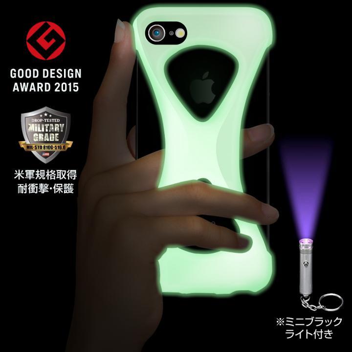 【iPhone8/7ケース】Palmo 落下防止シリコンケース 蓄光 iPhone 8/7_0